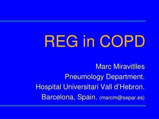 REG in COPD