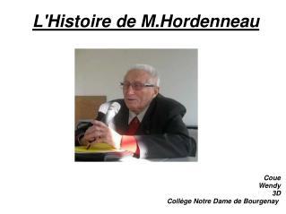 L'Histoirede M.Hordenneau