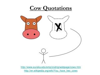 Cow Quotations