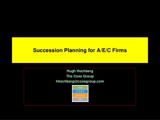 Succession Planning for A/E/C Firms