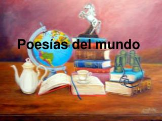 Poesías del mundo