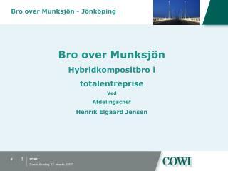 Bro over Munksj�n - J�nk�ping