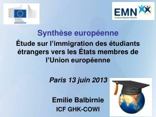 Synthèse européenne