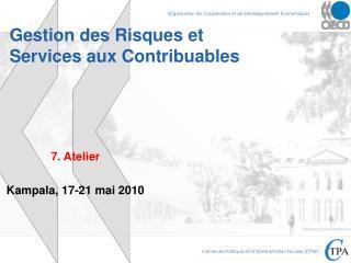 Gestion des Risques et Services aux Contribuables