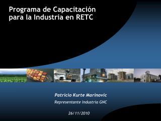 Programa de Capacitación para la Industria en RETC