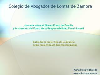 Colegio de Abogados de Lomas de Zamora