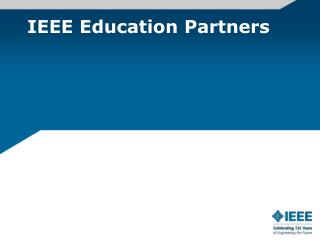 IEEE Education Partners