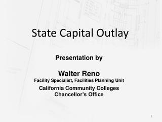 State Capital Outlay