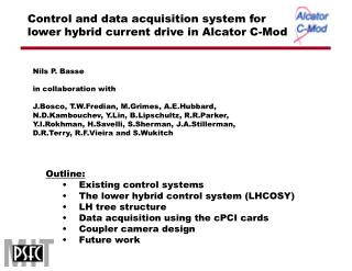 Control and data acquisition system for lower hybrid current drive in Alcator C-Mod