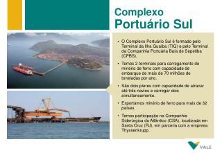 Complexo Portuário Sul