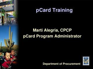pCard Training