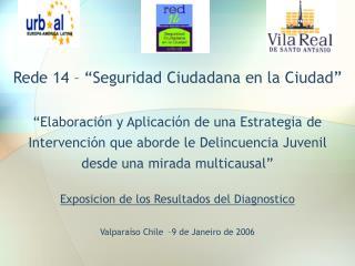 """Rede 14 – """"Seguridad Ciudadana en la Ciudad"""""""