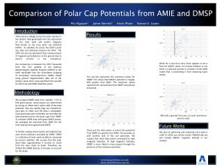 Comparison of Polar Cap Potentials from AMIE and DMSP