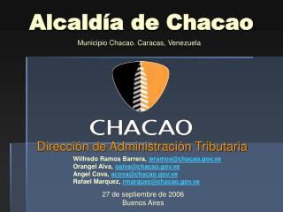 Alcald�a de Chacao