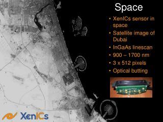 Sample InGaAs Satellite Image
