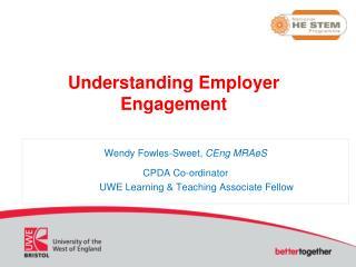 Understanding Employer Engagement