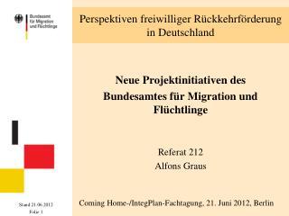 Perspektiven freiwilliger Rückkehrförderung in Deutschland
