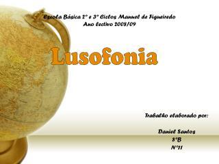 Escola Básica 2º e 3º Ciclos Manuel de Figueiredo Ano lectivo 2008/09