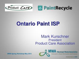 Ontario Paint ISP