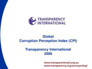 transparentnost.yu transparency/surveys/#cpi