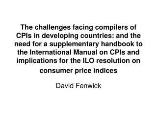 David Fenwick