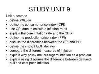 STUDY UNIT 9