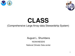 CLASS (Comprehensive Large Array-data Stewardship System)