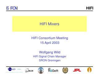 HIFI Mixers