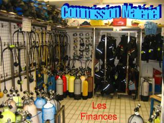 Commission   Matériel