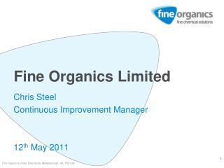 Fine Organics Limited