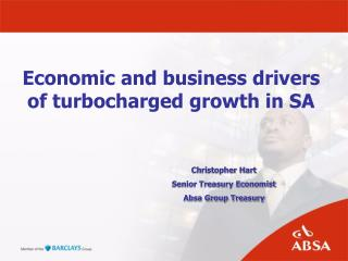 Economic and business drivers of turbocharged growth in SA