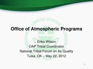 Office of Atmospheric Programs