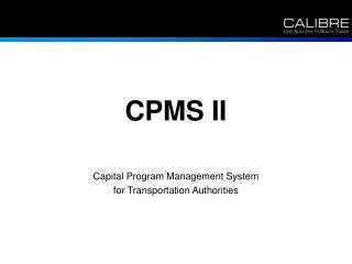 CPMS II