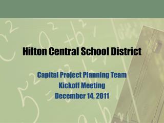 Hilton Central School District