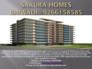 Sakura Homes Bhiwadi@9266158585