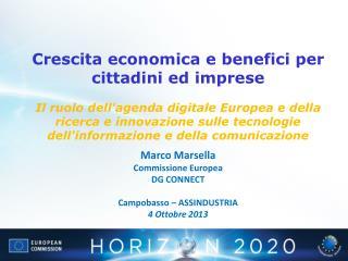 Crescita economica e benefici per cittadini ed imprese