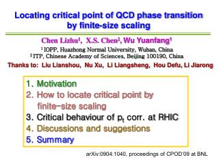 Locating critical point of QCD phase transition by finite-size scaling