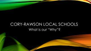 Cory-Rawson Local Schools