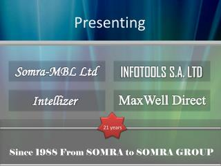 Since 1988 From SOMRA to SOMRA GROUP