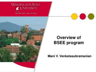 Overview of             BSEE program