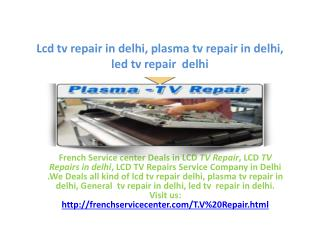 LCD tv repair in gurgaon