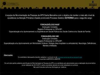 Edital FONO 2011