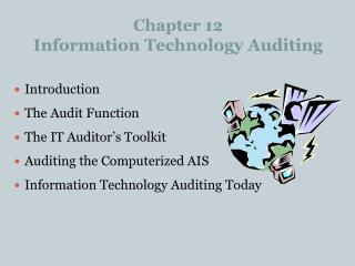 Chapter 12 Information Technology Auditing