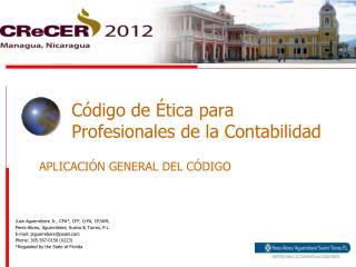 Código de Ética para Profesionales de la Contabilidad