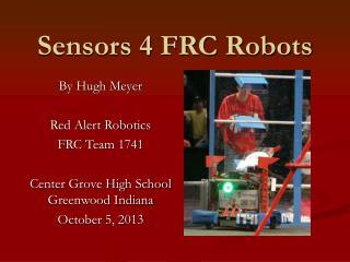 Sensors 4 FRC Robots