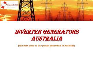 Inverter Generators Australia