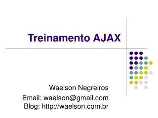 Treinamento AJAX
