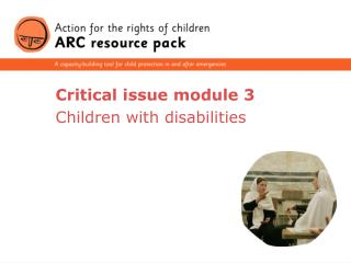 Critical issue module 3