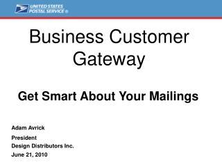 Business Customer Gateway