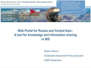 Web Portal for Russia and Central Asia : A tool for knowledge and information sharing  in NIS